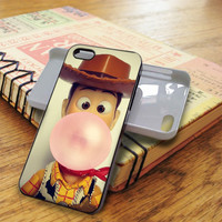 Disney Toy Story Woody Bubble Gum   For iPhone 5/5S Cases   Free Shipping   AH1171