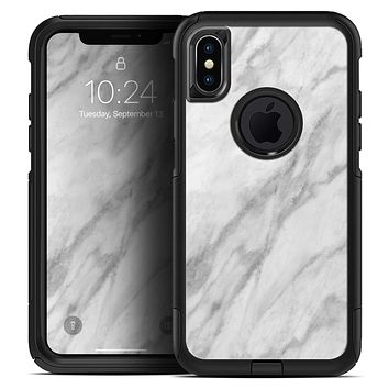 White Marble Surface - Skin Kit for the iPhone OtterBox Cases