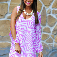 Boom Boom Pow Dress: Orchid | Hope's
