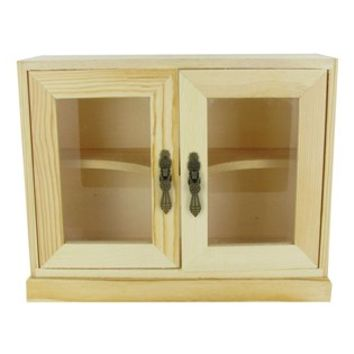 Wood Cabinet with Glass Doors | Shop Hobby Lobby