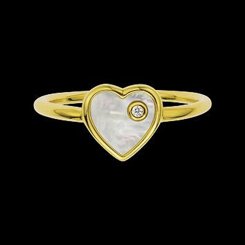 Diamond Of My Heart Ring