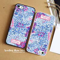 Home Sweet Home-Lilly Pulitzer iPhone Case Cover for iPhone 6 6 Plus 5s 5 5c 4s 4 Case