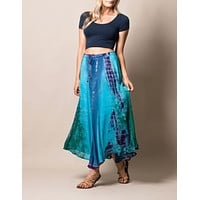 Heat Wave Tie-Dye Skirt