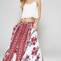 Ruby Floral Maxi Skirt