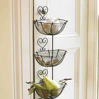 three tier heart wall store by country lighting   notonthehighstreet.com