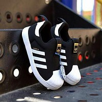 ADIDAS Girls Boys Children Baby Toddler Kids Child Durable Old Skool Sneakers Sport Shoes