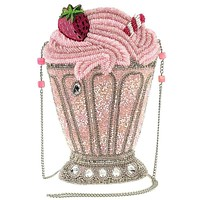 As Sweet As You Pink Strawberry Milkshake Handbag