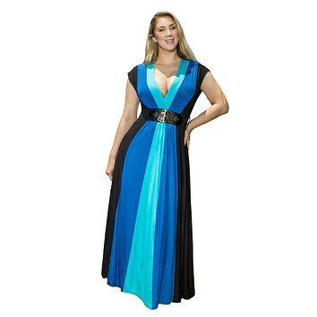 Royal Blue Dress Made in USA