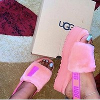 UGG fashion hot sale, plush platform slippers and plush slippers Shoes Boots