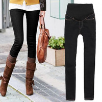 New Fashion Ladies Fashionable Skinny Maternity Jeans