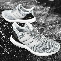 Adidas Ultra Boost Women MEN Running Breathable Sneakers B-CSXY Grey