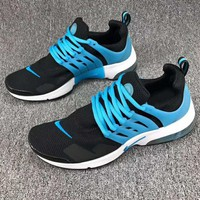 NIKE AIR PRESTO FLYKNIT ULTRA Women Men Running Sport Casual Shoes Sneakers Blue Black G-CSXY