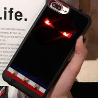 Fendi Bao Iphone6s Plus Iphone6s Plus Small Monster Iphone7p Back Clip 8 Portable Mobile Power Supply Men And Women