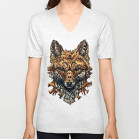 Deception Unisex V-Neck by René Campbell