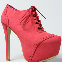 The Coast Boot in Red
