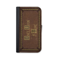 Once Upon A Time Fairytale Book Wallet Case For iPhone 6 or 6 plus