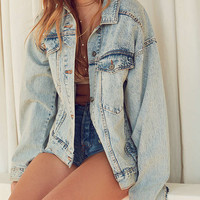 BDG Relaxed Denim Trucker Jacket | Urban Outfitters