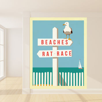Anderson Design Group's SignPost Mural wall decal