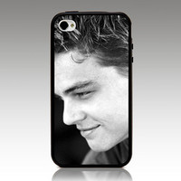 LEONARDO DICAPRIO hard case TPU mix PC Phone cover for iphone 5/5s