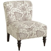 Addyson Chair - Silver Leaves