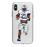 EZEKIEL ELLIOTT COWBOYS CUSTOM IPHONE CASE