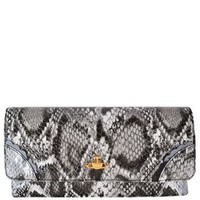VIVIENNE WESTWOOD Frilly Snake Patent Clutch - Flannels