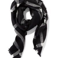 Flannel Blanket Scarf for Women |old-navy
