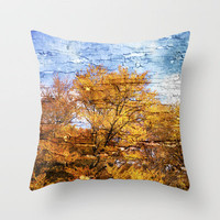 An autumn day Throw Pillow by Textures&Moods by Belle13 | Society6