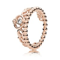 PANDORA ROSE™ MY PRINCESS WITH CLEAR CZ RING