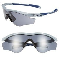 Men's Oakley 'M2 Frame' 175mm Shield Sunglasses - Matte Fog