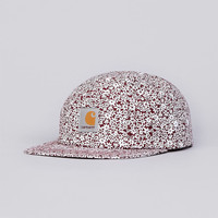 Flatspot - Carhartt Orchid 5 Panel Cap Allover Red Print