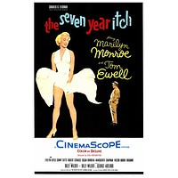 The Seven Year Itch 27x40 Movie Poster (1955)