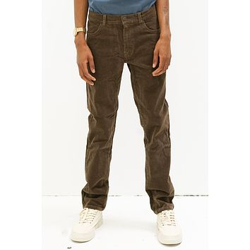 Corduroy Jean Pant in Chocolate