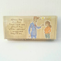 Doctor Who Wallet - Upcycled Comic Book Wallet
