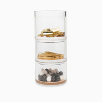 Strike Gold Stackable Desk Organizer Set | Kate Spade New York