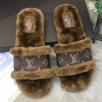 Louis Vuitton LV Latest popular Mao sandals