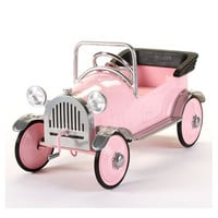 Roadster Pedal Car In Pink : Toys For Girls at PoshTots