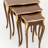 Canonbury - French Nest 3 Tables - Empire Side Table