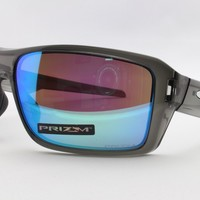 NEW Oakley Double Edge 9380-06 Prizm Polarized Sports Surfing Cycling Sunglasses