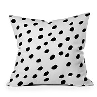 Rebecca Allen Dinner At Eight Throw Pillow