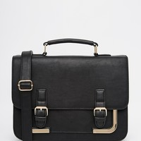 ASOS Metal Corner Satchel Bag