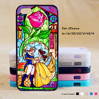 Beauty and Beast Phone Case For iPhone 6 Plus For iPhone 6 For iPhone 5/5S For iPhone 4/4S For iPhone 5C iPhone X 8 8 Plus