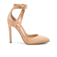 Gianvito Rossi Suede Carla Pumps in Powder | FWRD