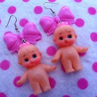 Darling Vintage Kewpie Doll Lolita Earrings