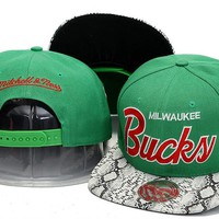 Perfect Milwaukee Bucks NBA hats Women Men Embroidery Sports Sun Hat Baseball Cap Hat