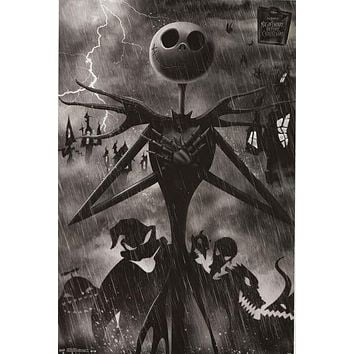 Nightmare Before Christmas Jack Skellington Poster 22x34