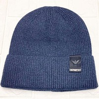 Armani Fashion Casual Women Men Crochet Hat