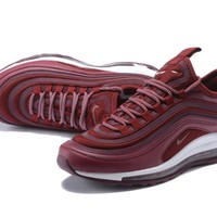 Nike Air Max 97 Ultra SE Retro air cushion jogging shoes
