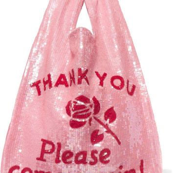 Ashish - Sequined cotton tote