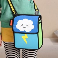 Angry cloudling comic book bag(1020D)